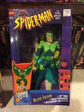 "1995 Toy Biz Marvel Animated Spider-Man 10"" Inch Figure Doll MIB - VULTURE"