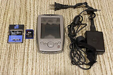Dell Axim X5 Pocket Pc Pda Handheld w/ Charger, Sd Card, Linksys Flash Card