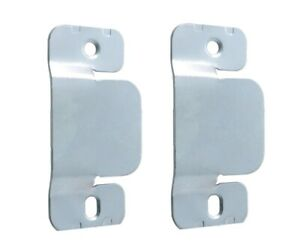 Heavy Duty Interlocking headboard wall Bracket clips Sliding Flush mount lift up
