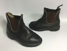 Blundstone Australia Blunnies Brown Leather Boots Youth Kids AU Size 12, US 13