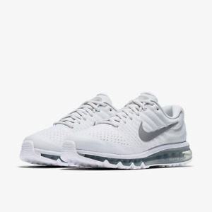 Nike Air Max 2017 White Athletic Shoes for Men for Sale ...