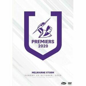 2020 PREMIERS - MELBOURNE STORM NRL DVD Brand New & Sealed! On Hand!