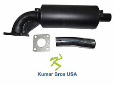 New Kubota Muffler & Exhaust pipe W/Gasket B4200D B5100E B5100D
