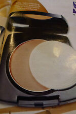 NEW AVON IDEAL FLAWLESS PRESSED POWDER - LIGHT MEDIUM