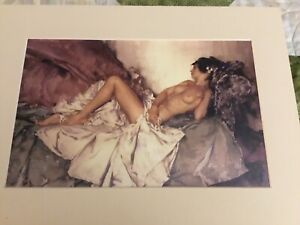 Watercolor Nude Print By William Russell Flint