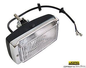 JORG Fog Light, Chrome/Black, Porsche 911/Carrera/930 (74-83), 911.631.206.01