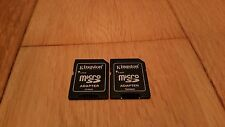 x2 MicroSD To SD Adapter Converter 2GB 4GB 8GB £1.49 Orig Kinston Micro SD To SD
