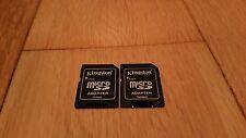 x2 MicroSD To SD Adapter Converter 2GB 4GB 8GB £1.49 Orig Kinston Micro SD To SD