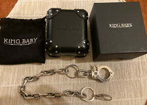 King Baby Studio Handcuff Wallet Chain Sterling Silver 224 Grams