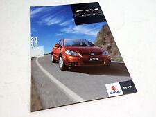 2010 Suzuki SX4 Hatchback Brochure