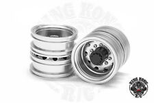 "Metal 1.75"" Rear Wheels (Round Hole) (2pcs) for Tamiya 1/14 R/C Tractor Trailer"