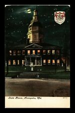 DR JIM STAMPS US STATE HOUSE ANNAPOLIS MARYLAND EXTERIOR VIEW POSTCARD