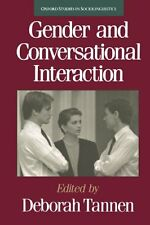 Gender and Conversational Interaction (Oxford Studies in Sociolinguistics) by Ta