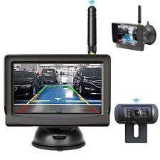 Kabellose Funk Rückfahrkamera & Drahtloser Monitor Auto Transporter Wohnmobil