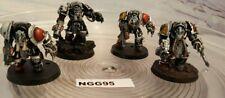 Warhammer 40k - Chaos Space Marines - Terminators- Pro Painted- NGG95