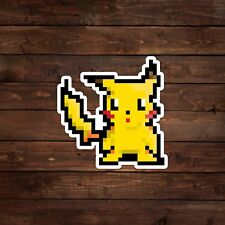 16-Bit Pikachu (Pokemon) Decal/Sticker
