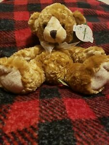 First and Main Mint Retired Bailey Teddy Bear W/ Tags