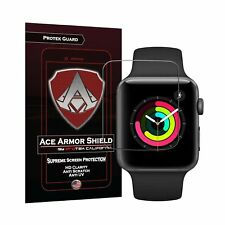 Apple Watch Series 2 and 3 42mm Screen Protector (6-Pack) Ace Armor Shield Fu...
