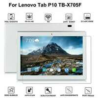 "100% 9H Tempered Glass Screen Protector Cover For Lenovo Tab P10 10.1"" TB-X705F"
