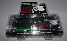 GREENLIGHT BULLITT 2016 DODGE RAM 2500 & 1968 DODGE CHARGER 1/64 GREEN MACHINE