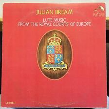 Julian Bream - Lute Music From The Royal Courts Of Europe LP VG+ LM-2924 1s/1s