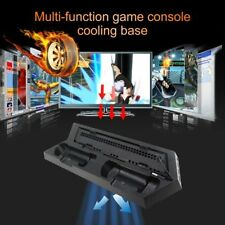 Cooler Cooling Fan For PlayStation 4 For PS4 Slim Game Console Vertical StandHK