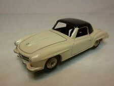 DINKY TOYS 24H MERCEDES BENZ 190SL - CREAM 1:43 - EXCELLENT CONDITION