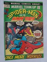 MARVEL TEAM-UP #3 (1972) 3RD APPEARANCE OF MORBIUS THE LIVING VAMPIRE HUMAN TORC