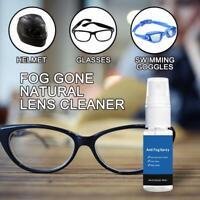 20ML Anti Fog Spray For Goggles Glasses Masks Scuba Gear Hunting Car Windows 1X