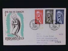 Fernando POO FDC 1960 Virgin Mary Madonna c6102