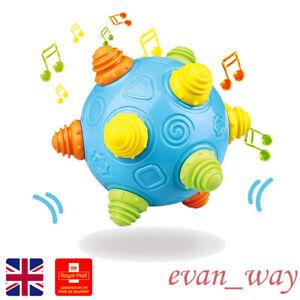 Dancing Shaking Ball Toy Crawl Interactive Music Bouncing Sensory Early Learning