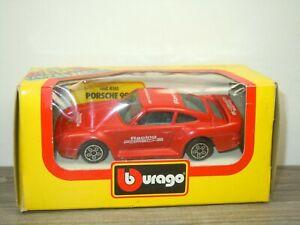 Porsche 959 - Bburago 4161 Italy 1:43 in Box *52496