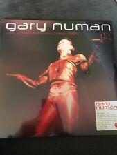 GARY NUMAN 'LIVE AT HAMMERSMITH 1989'  LTD EDT 180gsm RED VINYL LP - NEW SEALED