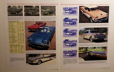 1958 Ford Fairlane + Tbird + Skyliner Retractable + Ranchero Article -Must See!