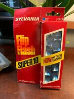 Vintage SYLVANIA Flip Flash Super 10 For Cameras #1721 Brand New