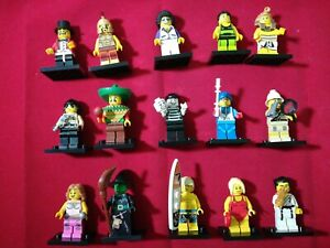 LEGO Collectible Minifigures SERIES Partial Complete Set of 15 excellent cond.
