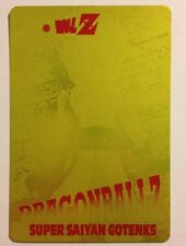 Dragon Ball Z PP Card Gold 1180