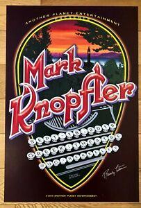Mark Knopfler Dire Straits Berkeley '19 Signed Randy Tuten Poster