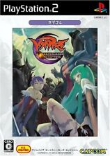 UsedGame PS2 Vampire Darkstalkers Collection The best edition Capcole JP Import