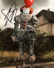 """Bill Skarsgard It movie Reprint SIGNED 8x10"""" Photo #3 RP Pennywise Stephen King"""