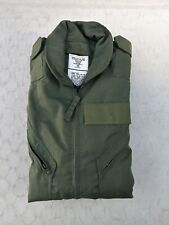 New Military Surplus CWU-27/P Summer Flight Suit Nomex Sage Green Size 46L