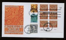 SPECIAL SALE US First Day COMBO Cover (Coverlet Eagle) 2002 Oak Brook, Illinois
