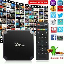 SMART HD TV BOX X96 MINI 4GB RAM 16GB ROM QUAD CORE ANDROID 7.1 4K + TELECOMANDO