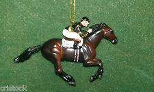 BREYER RACE HORSE CHRISTMAS ORNAMENT - WAR ADMIRAL - KENTUCKY DERBY NIB