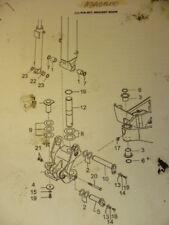 Bolzen Buchsen Dichtung Set pin bracket boom Yanmar SV17 Minibagger ADA01600
