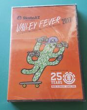 Skateboard Dvd - Valley Fever 2017 - Element - Arizona - New - Sealed - Rare