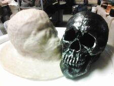 Nice Smaller Skull Latex Mold for Plaster or  concrete