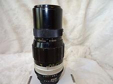 Nikkor 200mm Q f/4 ai convertiti MF teleobiettivo. COLLECTOR'S CLASSIC. Nikon