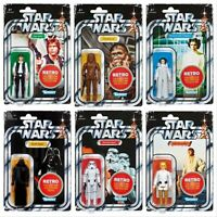 Star Wars Retro Collection Kenner Chewbacca Vader Han Luke Leia Stormtrooper NEW