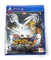 Naruto Shippuden Ultimate Ninja Storm 4 PlayStation 4 PS4 - New Factory Sealed